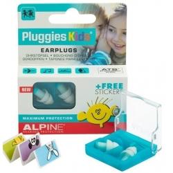 Alpine Pluggies Kids ochrona słuchu, zatyczki, stopery dla dzieci