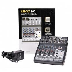 BEHRINGER XENYX 802 mikser audio do domowego studia