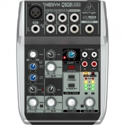 BEHRINGER Q502 mikser audio do domowego studia