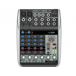 BEHRINGER Q802 mikser audio do domowego studia