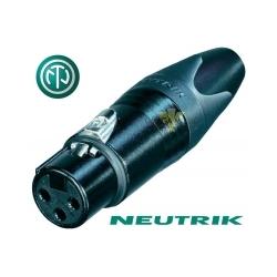 NEUTRIK NC3FXX-B - Złącze XLR żeńskie