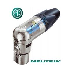 NEUTRIK NC3FRX - Złącze XLR żeńskie kątowe