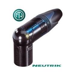 NEUTRIK NC3MRX-B - Złącze XLR męskie kątowe