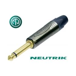 NEUTRIK NP2X-B - Złącze JACK 6,3mm mono
