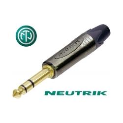 NEUTRIK NP3X-B - Złącze JACK 6,3mm stereo
