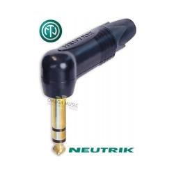 NEUTRIK NP3RX-B - Złącze JACK 6,3mm stereo kątowe