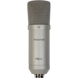 NOVOX NC-1 mikrofon przewodowy USB srebrny