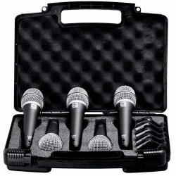 Superlux PRA D5 Zestaw 5 mikrofonów dynamicznych PRA-D1 do zastosowań estradowych