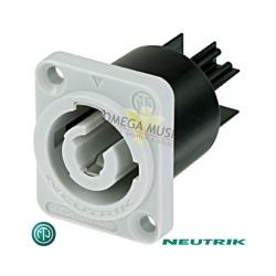 NEUTRIK NAC3MPB-1 - Złącze POWERCON zasilające na panel