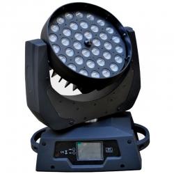 PG LED RUCHOMA GŁOWA LED WASH 36 X 18W 6IN1 RGBWAUV ZOOM