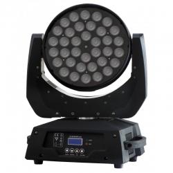 PG LED RUCHOMA GŁOWA LED WASH 36 X 10W 4IN1 RGBW ZOOM