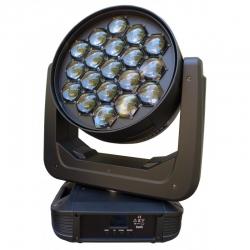 PG LED RUCHOMA GŁOWA WASH BEAM 19X30W RGBW