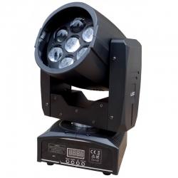 PG LED RUCHOMA GŁOWA LED WASH BEAM 7X15W RGBW ZOOM
