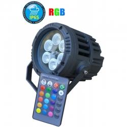PG LED REFLEKTOR PAR IP65 6X3W RGB 3in1
