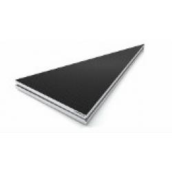ALUSTAGE Podest ALUDECK LIGHT trójkątny 100x100 cm
