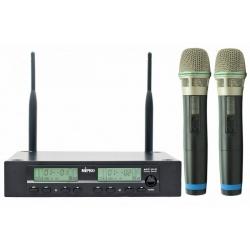 MIPRO ACT312/ ACT30H [2] Dwukanałowy zestaw z odbiornikiem ACT 312 i dwoma mikrofonami bezprzewodowymi ACT 30 H