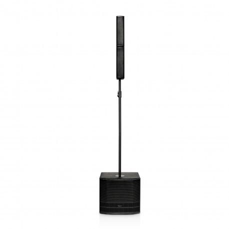 """dBTechnologies ES 802 Aktywny system nagłośnieniowy 1200W: kolumna 8x3"""" + subwoofer 12"""""""